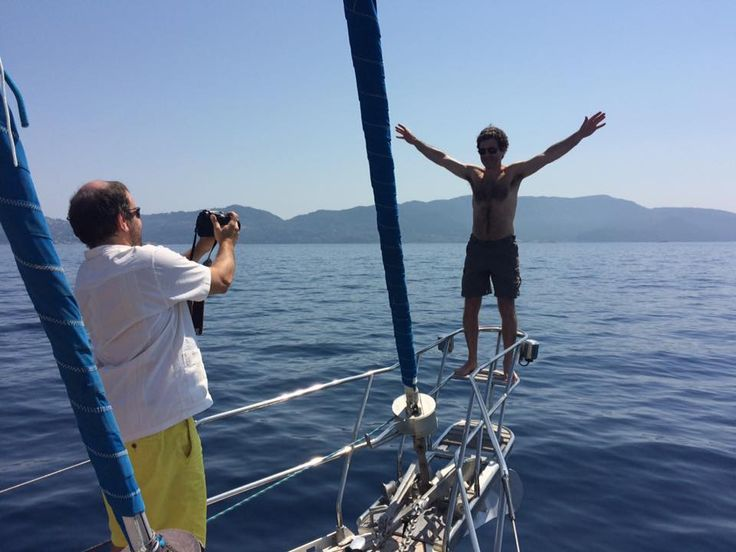 a memorable day's shot taken by our guests while sailing to Skopelos