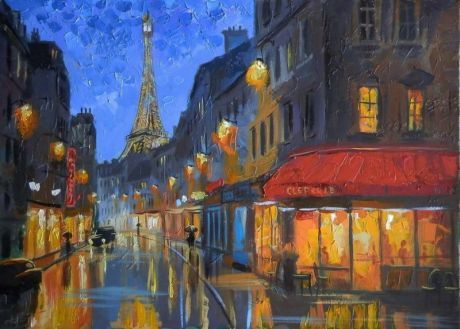 Ночной Париж - Болотов Александр