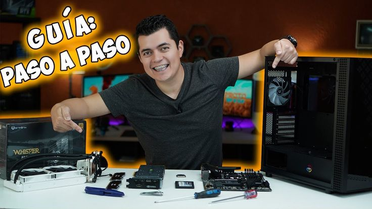 ¿Cómo armar tu Computadora Gamer o Profesional paso a paso en 2020? - YouTube Software, Youtube, Gym, Electronics, Step By Step, Excercise, Youtubers, Consumer Electronics, Youtube Movies