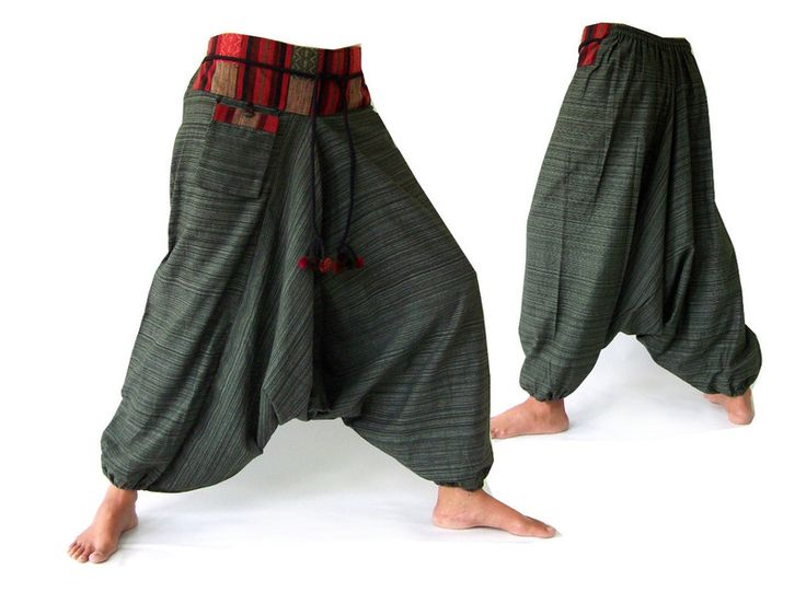 Aladdin pants, Harem pants, Ethno pants from Siamrose Art & Decor by DaWanda.com