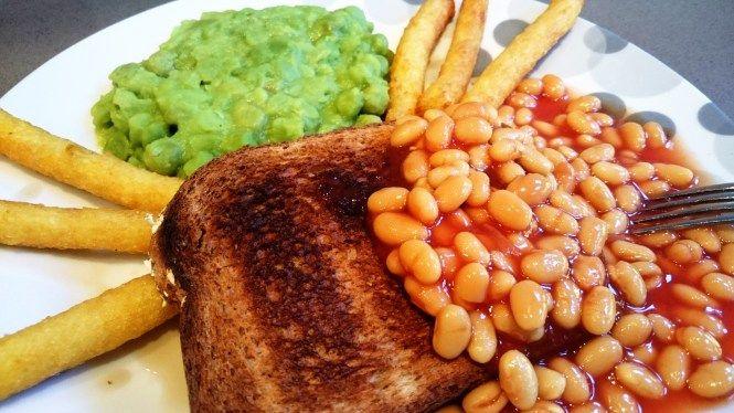#citychallenge beans on toast london