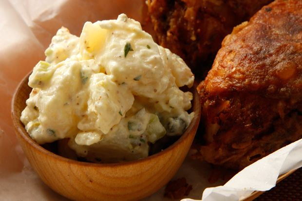 Basic Potato Salad....No summertime soiree is complete without a heaping bowl of potato salad gracing the table.