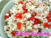 Six Sisters Cinnamon Bear Popcorn.  Whip some up for game night or movie night!