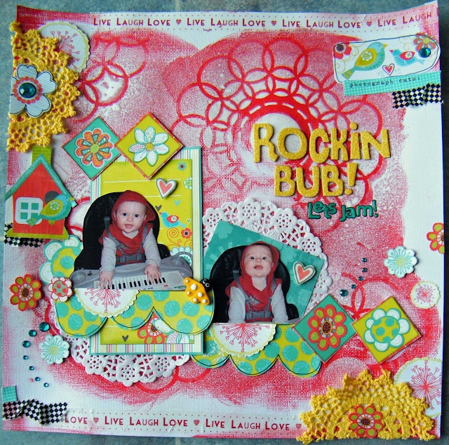 My layout with Bobunny for Sassy Scrapper http://www.sassyscrapper.com.au/