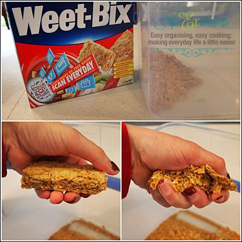 EASY WEET-BIX SLICE | No Excuses!