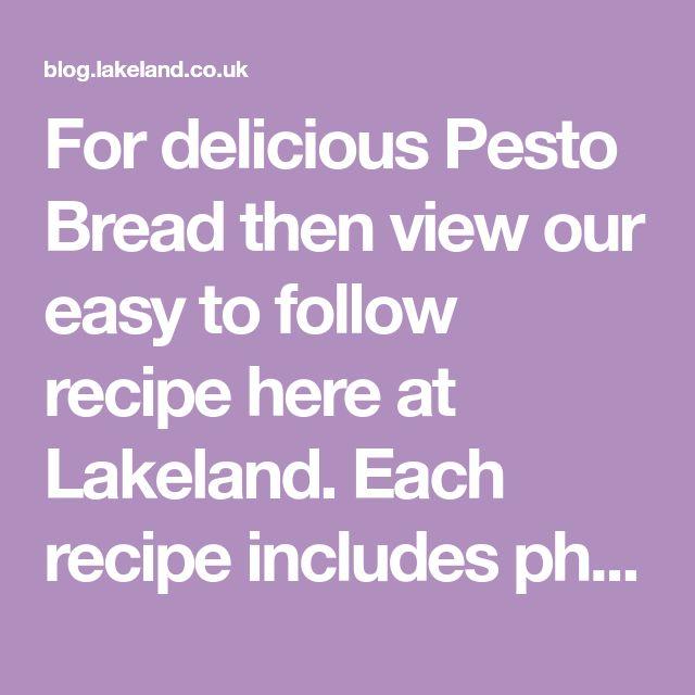 Pesto Bread Recipe in 2020 | Plum jam recipes, Mini scones ...