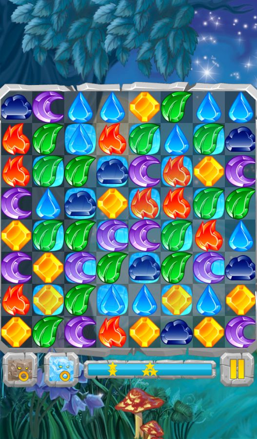 Moon Jewels - Match 3 Puzzle - screenshot