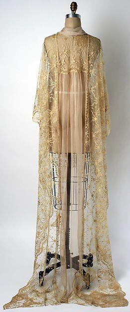 Negligée (image 2) | American or European | 1920s | Metropolitan Museum of Art | Accession #: C.I.67.48.3