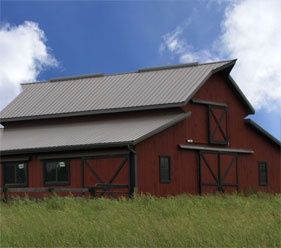 Best Barn Looks Great With A Standing Seam Roof From Premier 400 x 300