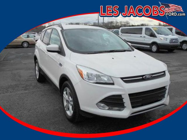 6544 – 2014 #Ford #Escape SE FWD - Oxford White with Charcoal Black, Turbo I-4 2.0L, Select Shift Auto, Reverse Sensing with Backup Camera, Alloy Wheels, P/W, P/L, P/M, Red Carpet Lease turn in, Still under Factory Powertrain Warranty! #Used #Cars #Cassville, #MO