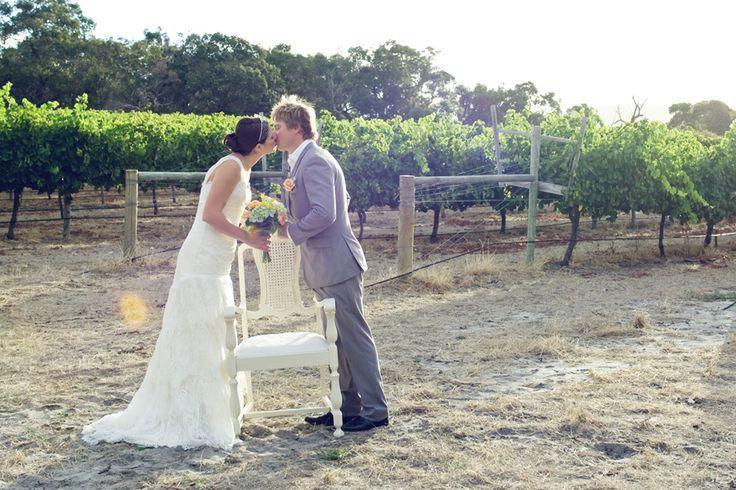 White Wedding Rattan Chairs www.capeoflove.com