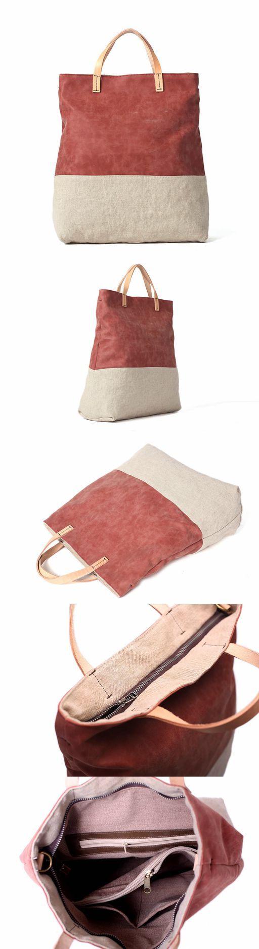 Canvas Tote Bag, Women's Shopping Bag, Daily Handbag, Messenger Bag YY01