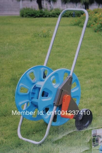 Find More Garden Hoses & Reels Information about Hose reel trolley  60M 1/2' GARDEN HOSE,High Quality hose reel garden,China reel garden hose Suppliers, Cheap hose plug from Ningbo Zhiyi Garden Tools Co.,Ltd on Aliexpress.com