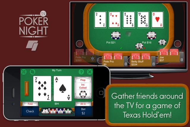 #Splitmo's Poker Night TV Offers A Perfect Use Case For #Apple TV As A Gaming #Device...thoughts?