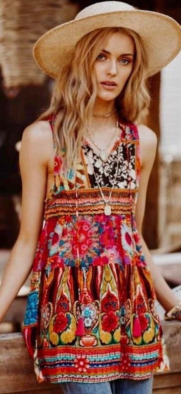 66ba652d18c Pasaboho.com featuring     Boho hippie gypsy style Outfit Ideas and Dresses  ⭐