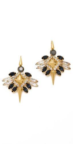 Fallon: Pretty Earrings, Earrings Fashion, Earrings Style, Rito Fashion, Winged Earrings, 2Dayslook Earrings, Accessories, Fallon Jewelry