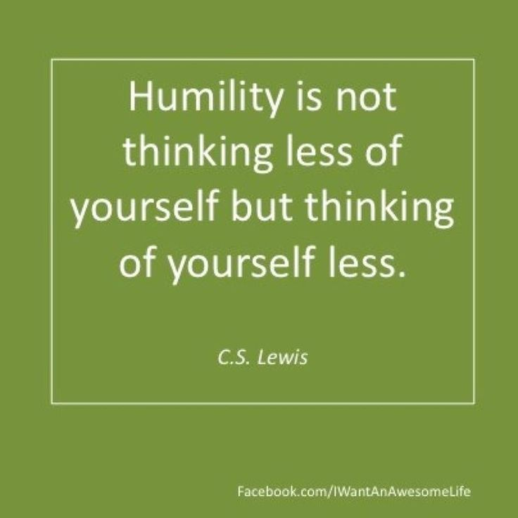 C.S. Lewis  quotes about humbleness | Lewis on Humility | iLife Journey