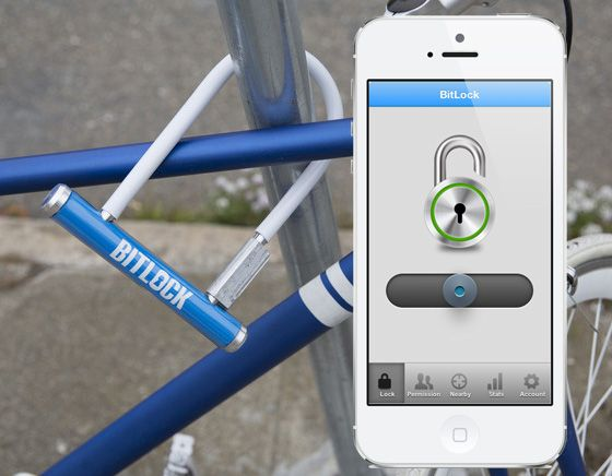 BitLock by Mesh Motion Inc turns your smart phone into your bike key l #kickstarter