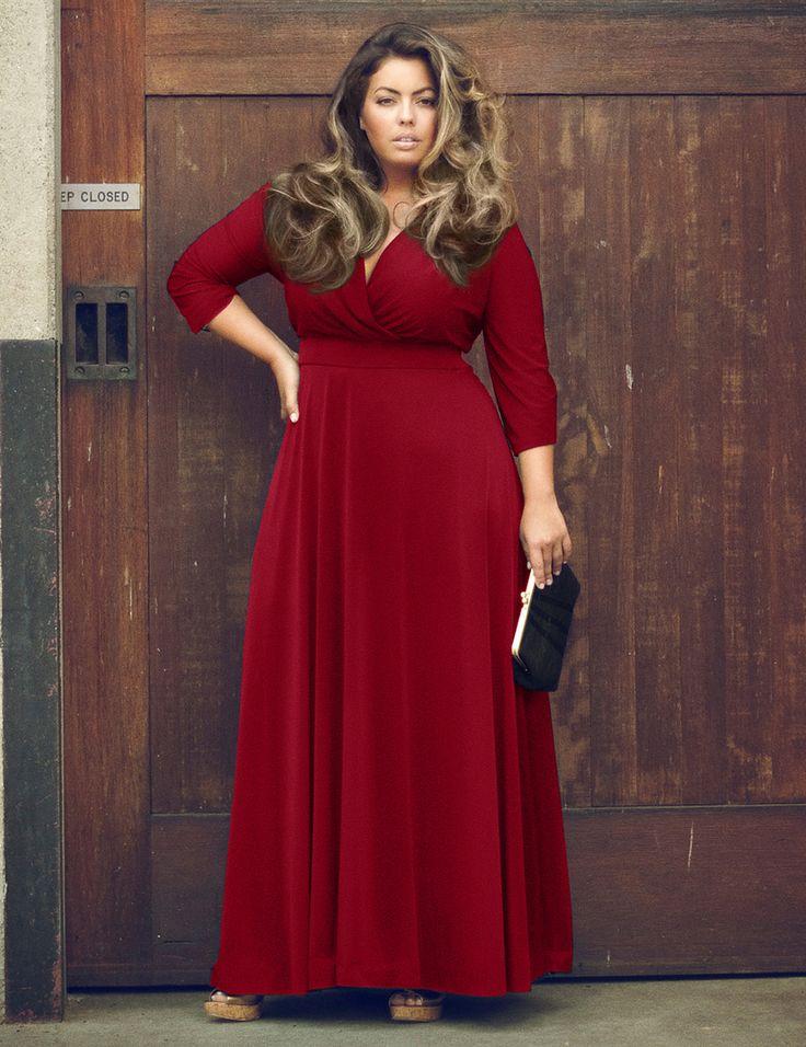 179 best images about plus size fashon on pinterest plus for Black tie wedding dresses plus size