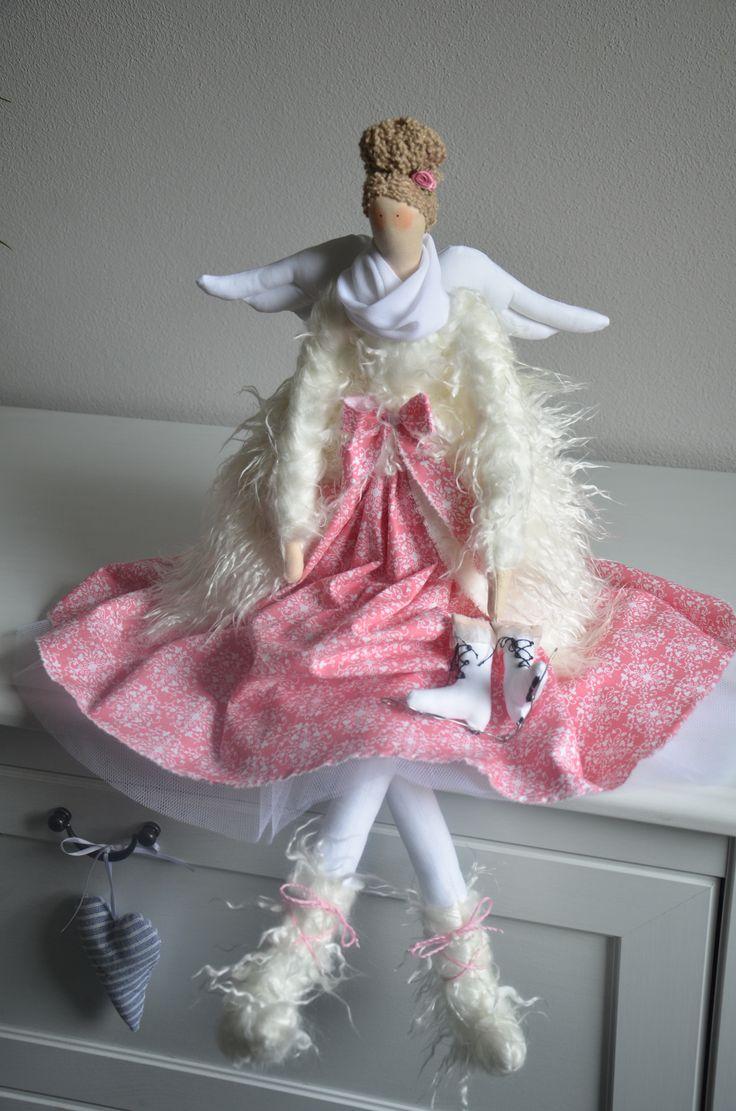 Tilda-snežný anjel www.sashe.sk/evaseligova eva.efka72@gmail.com