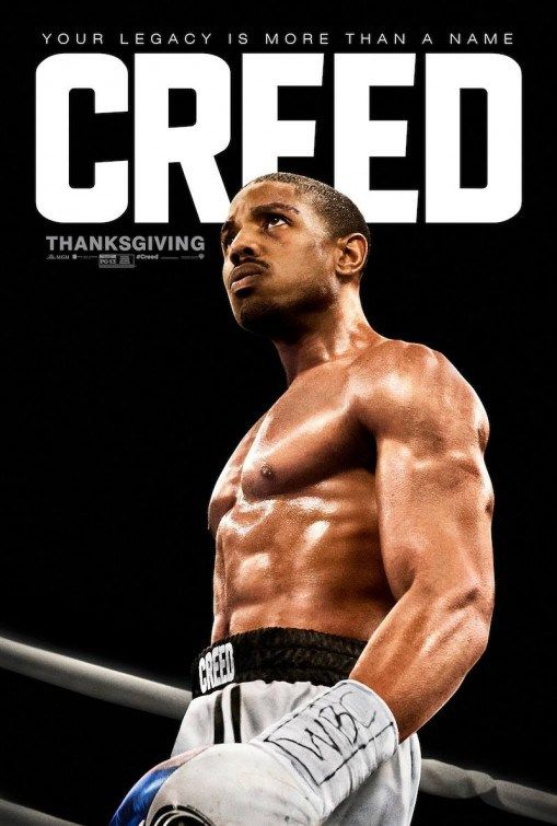 Boxing Movie Posters | Michael B. Jordan and Sylvester Stallone in the boxing movie Creed ...