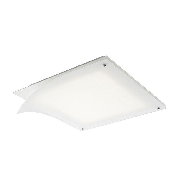 Plafonnier Ponts 2 LED blanc