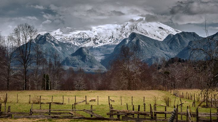 Fotografía El camino a Ojos del Caburgua en Pucón. Región de La Araucanía en el Sur de Chile por Freddy Briones Parra en 500px
