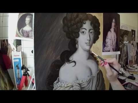 Dead Layer 2 / Classical oil painting technique