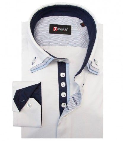 Camisas Vesuvio Satén Blanco