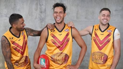 The Hill brothers and Johnno were selected for the Noongar team of the century