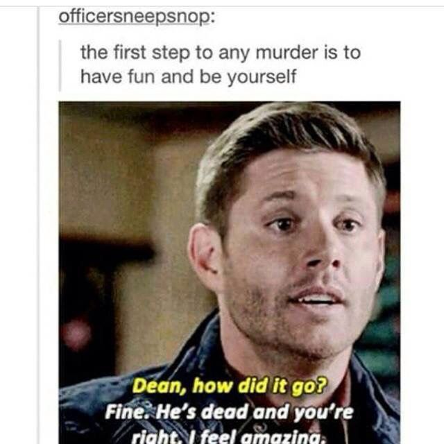 Dean has experience in this front