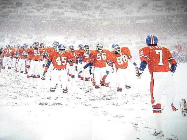 Denver Broncos at Mile High -- Totally remember this game!