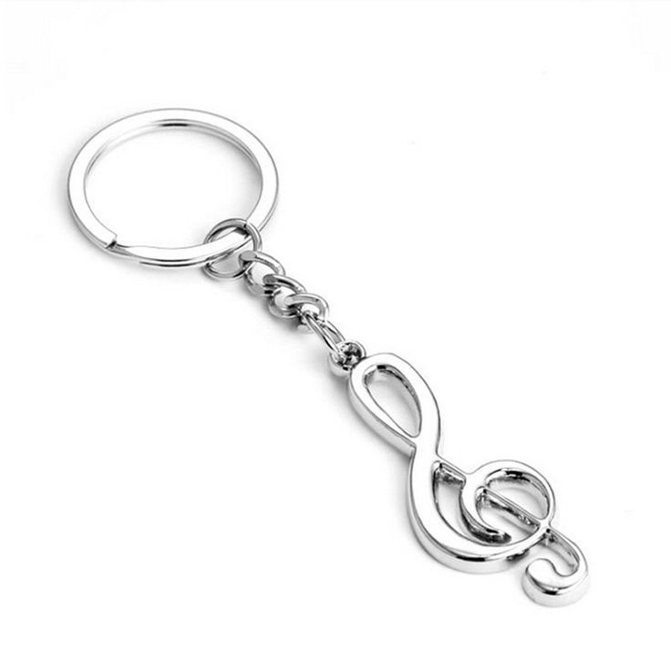 Amazon.com : Bhbuy Fashion Cool Musical Note Key Ring Keyfob Keyring Music Symbol Keychain Gift New : Office Products