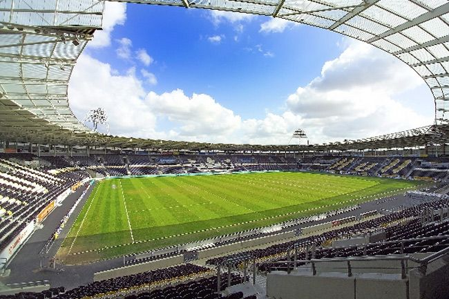The KC Stadium - home of Hull City AFC (football) and Hull FC (rugby league). Also the venue for rugby league Test matches and concerts for top music stars.