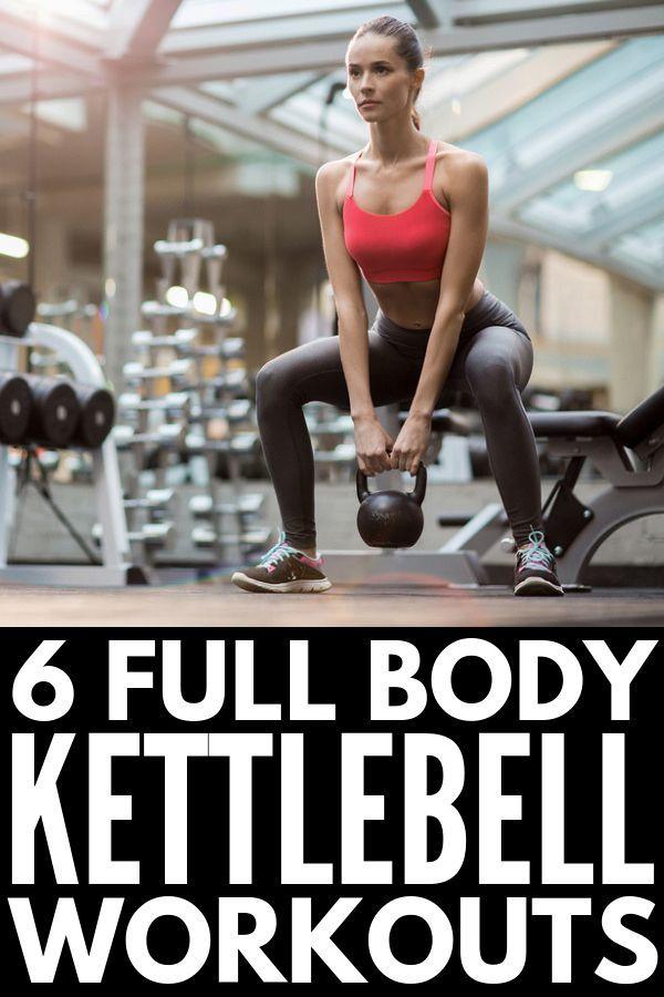6 Ganzkörper-Kettlebell-Workout-Routinen, die straffen und straffen
