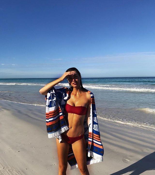 Kailua Regular Bikini Pant | Red