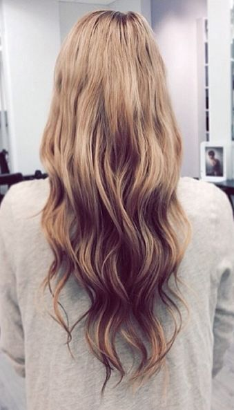 Picture from Rapunzel of Sweden. I'd love to color my hair like this! Colors used are: 18 Dark Blond ja 10 Medium Ash Brown.