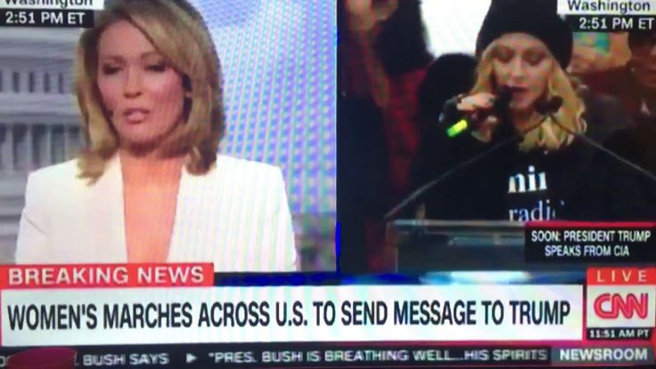 Cool Madonna Cursing Twice On CNN Live TV Check more at http://dougleschan.com/the-recruitment-guru/news/madonna-cursing-twice-on-cnn-live-tv/