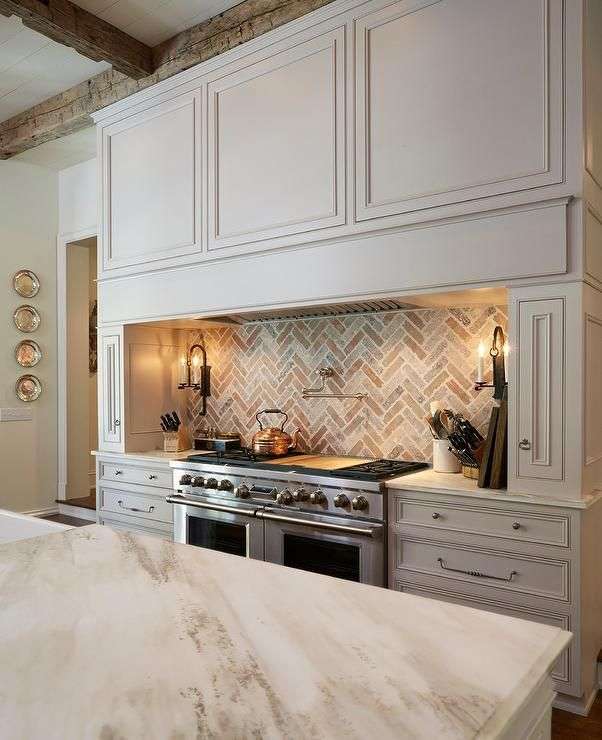 Kitchen Backsplash Off White Cabinets: 140 Best Images About Anything But White Or Black Cabinets