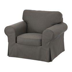 EKTORP Chair - Nordvalla gray - IKEA