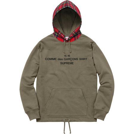 Comme des Garçons SHIRT®/Supreme Hooded Sweatshirt