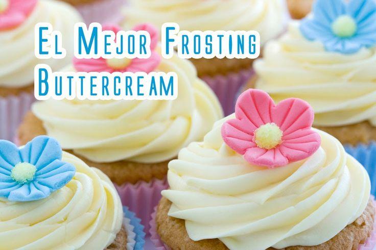 Nunca te has preguntado cómo hacen ese frosting de pastelería tan suave, tan distinto al que hacemos en casa que a veces no es tan suave como te gustaría. Te...