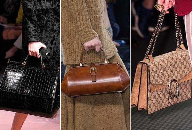 Le borse in stile vintage saranno di grande tendenza per l\'autunno/inverno 2015-2016. Scopri con noi 8 modelli da non perdere, tra stampa rettile e linee retrò.