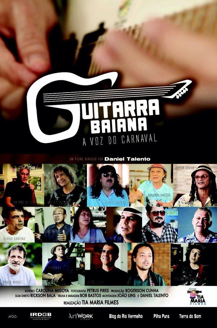 Dia 19/02 inicia a exibição do filme GUITARRA BAIANA, A VOZ DO CARNAVAL NO UCI BARRA SALA 5.  em Salvador-Bahia  Horários: segunda a quinta sessão as 20:00 e 21:30 sexta e sábado 20:00, 21:30 e a saideira 23:30.
