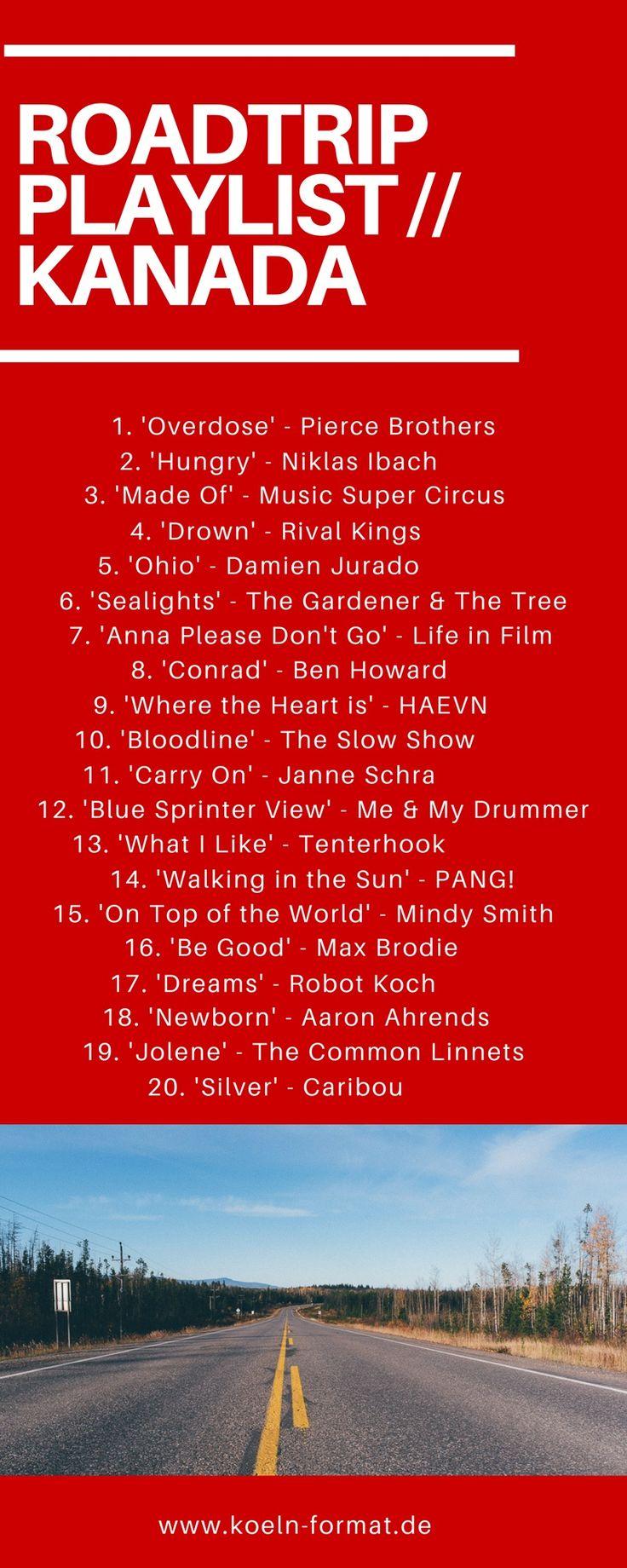 Keine Reise ohne Roadtrip Playlist! Hier findet ihr eine Auswahl meiner Roadtrip Playlists für eure nächste Reise inkl Pin zum speichern!