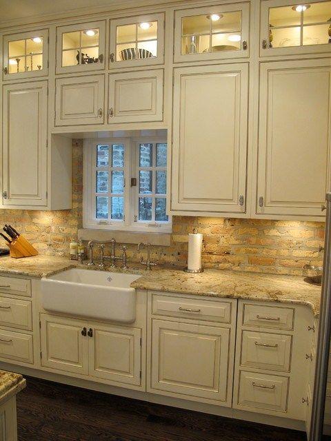 kitchen brick backsplash dresner design traditional kitchen brick backsplash view gallery brick kitchen backsplash extended