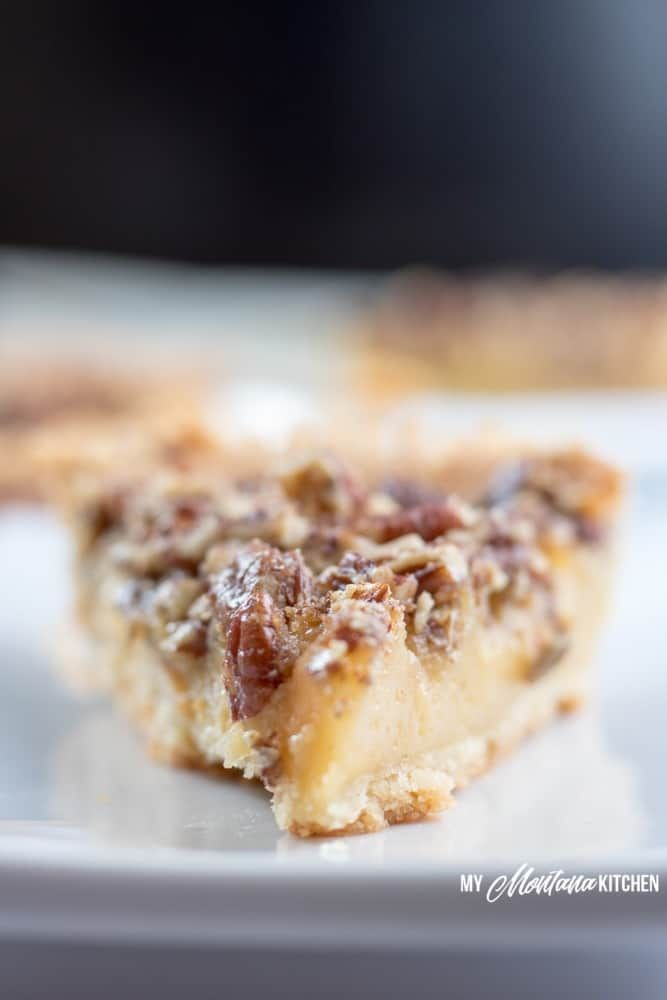 This Sugar Free Pecan Pie Uses A Low Carb Condensed Milk To
