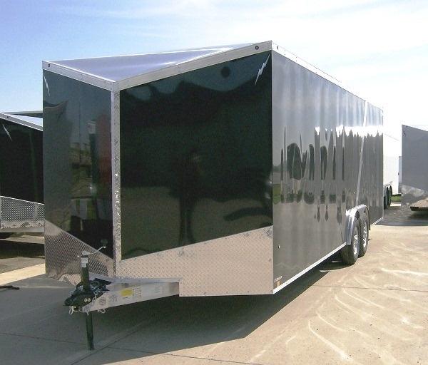 2013 Aluminum Enclosed Car Trailer