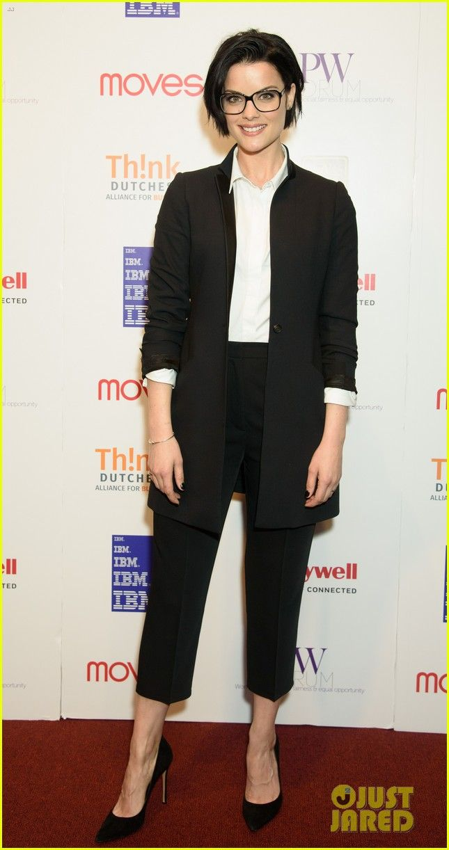 Jaimie Alexander Attends the New York Moves Power Women Forum