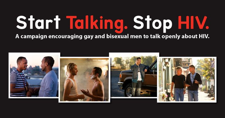 because HIV awareness is focused on gay men